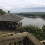 View of the Missouri River from the A Frame picnic area