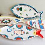 Creative fish platters