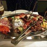 bosnisk kjøttmat. 2-porsjoners-rett