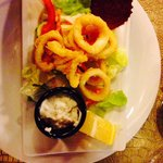 Calamari - amazing starter!