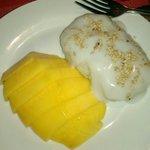 Divine! Mango and sticky rice