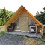 notre tente Huttopia