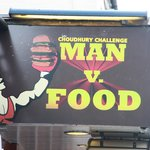 Try our Man V Food