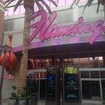 Flamingo side entrance