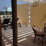 Duplex suite balcony off bedroom