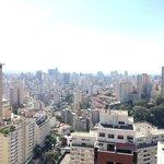 Vista do apartamento para o centro de São Paulo
