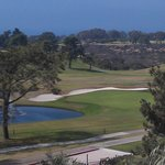 Torrey Pines Golf Course from our terrace.