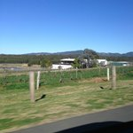 just picture going along the road going to hunter valley village