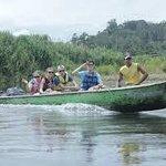 Costa Rica - Hotel La Palapa Ecolodge Resort Indian tribe tour of La Palapa.