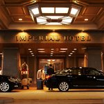 Main Entrance Imperial Hotel Tokyo