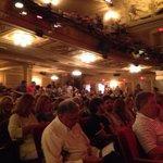 a full theatre