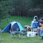 car camping at Custer Crazy Horse