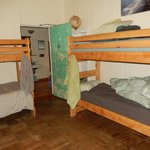 4 bunks, women's dorm