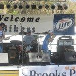 Back Outside Stage , Brooks Paul Band !