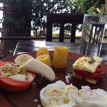 Desayunando en un 5 estrellas