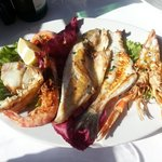 delicious mixed seafood