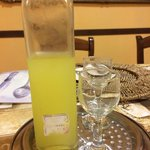 Homemade limoncello!!
