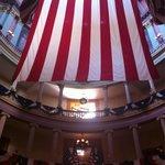 Interior de la casa de la justicia