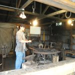 Learn how to make horseshoes in the Blacksmith shop.