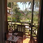 chalet balcony view