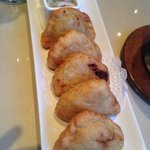 Curry Puffs Appetizer - Curry Mashed Potatoes with Chicken