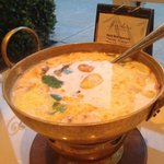 Tom Kha Hot Pot - Coconut Curry Soup with Chicken