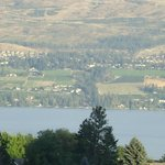 View across Lake Okanagan