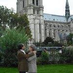 Grande y magestuosa Notre-Dame