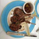 Lamb medallions appetizer