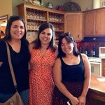 My cousins and our fabulous hostess Amanda (middle). Thanks for a wonderfully memorable afternoo