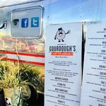 Gordough's Trailer and Menu Boards