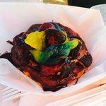 Baby Rattler Donut w 2' Gummy Snake