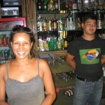 The friendly staff and a well stocked bar