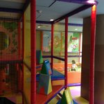 indoor playground - big slide and ball pool