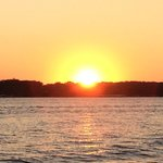 Sunset on lake Okoboji