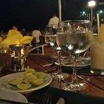 Cena em oyster bar
