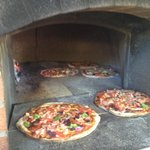 Wood fired Pizza - delicious!