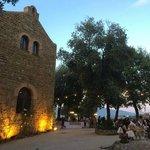 scorcio del Castello di Rosciano