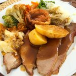 Sunday Roast-Beef and Pork