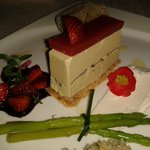 Foie gras layer cake