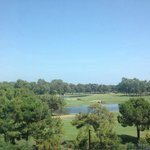 Golf course, view from the room