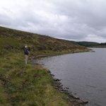 Jen fishing