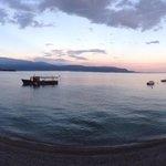 Utsikt fra Villa Maria au lac
