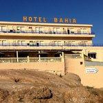 El Hote Bahía ofrece las mejores vistas de la Bahía de Mazarrón. Una terraza espectacular!