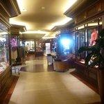 Hotel shopping mall