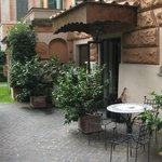 Outside Hotel Aventino