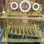 A clock that's hundreds of years old