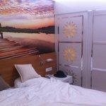 Adult part of bedroom