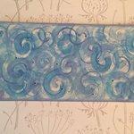 My swirly plate!