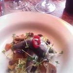 Sardines as a starter